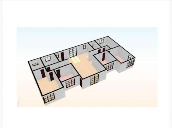 Distribución interior 120 m2