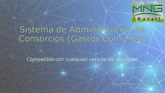 Sistema de administracion de consorcios (gastos comunes)