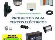 LETREROS PARA CERCOS ELÉCTRICOS / SEGURIDAD VALPARAÍSO